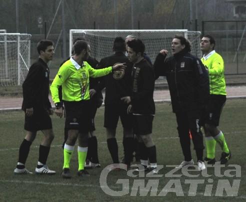 Calcio: un anno di squalifica a Luigi Brunet del Real Sarre
