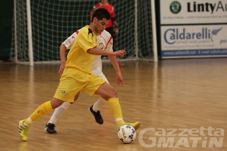Calcio a 5: Ayma ko, rocambolesco pari dell'Aosta
