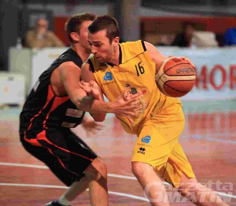 Basket: la Moretti Zero cade col Valsesia