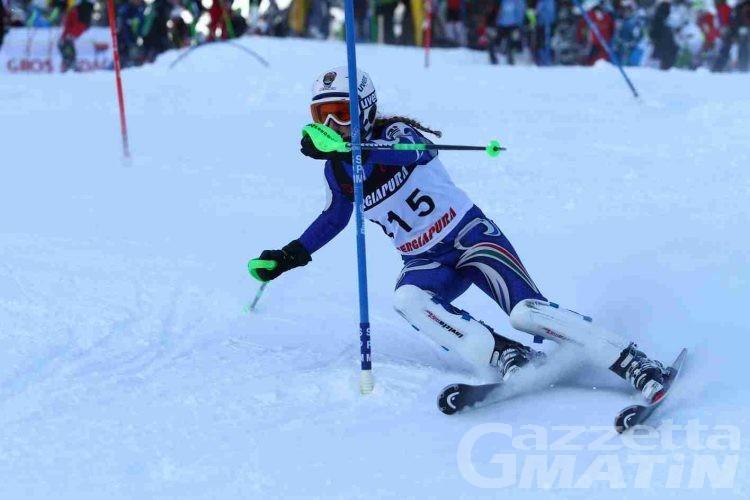 Sci alpino: una vittoria valdostana nel Memorial Fosson