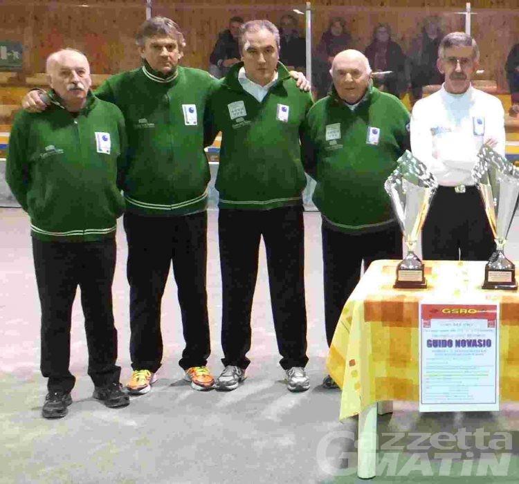 Bocce: la Nitri Aosta trionfa a Salassa