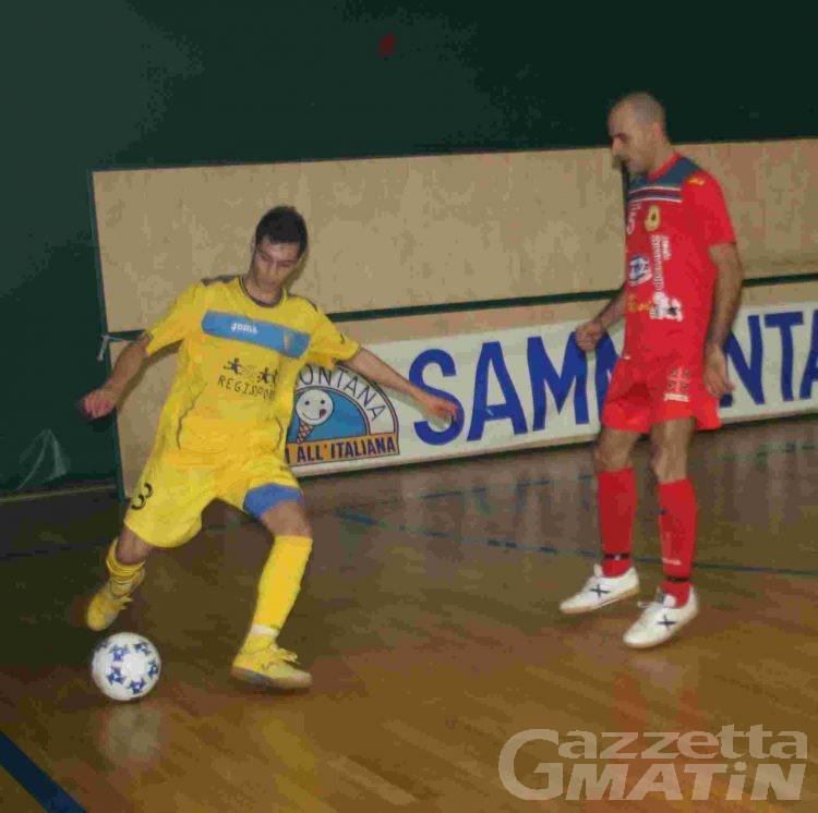 Calcio a 5: l'Aosta torna in vetta alla classifica