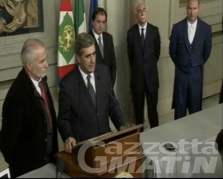 Governo Monti e crisi, giro di consultazioni delle forze politiche