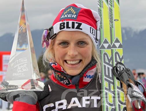 Fondo: Elisa Brocard 15ª sull'Alpe Cermis