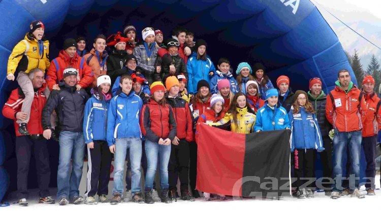 Biathlon: quattro ori per la Valle a Forni Avoltri