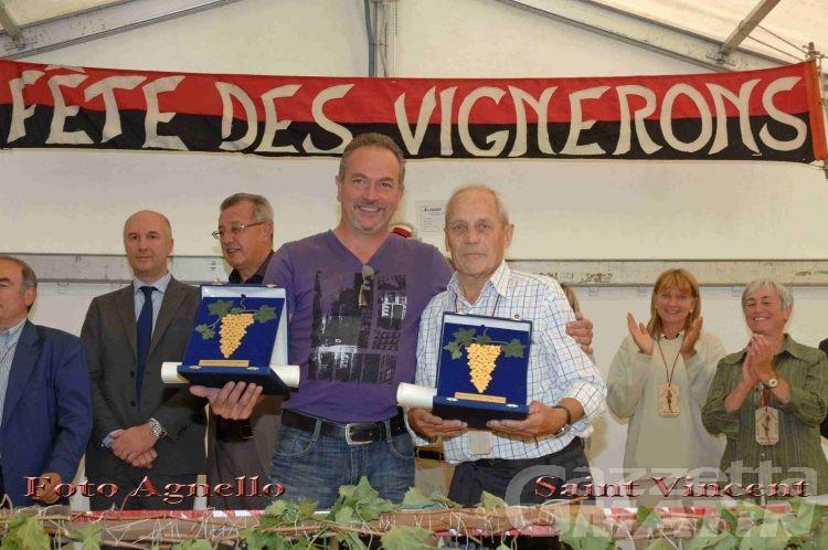 Saint-Vincent: la festa dell'uva assegna i grappoli d'oro