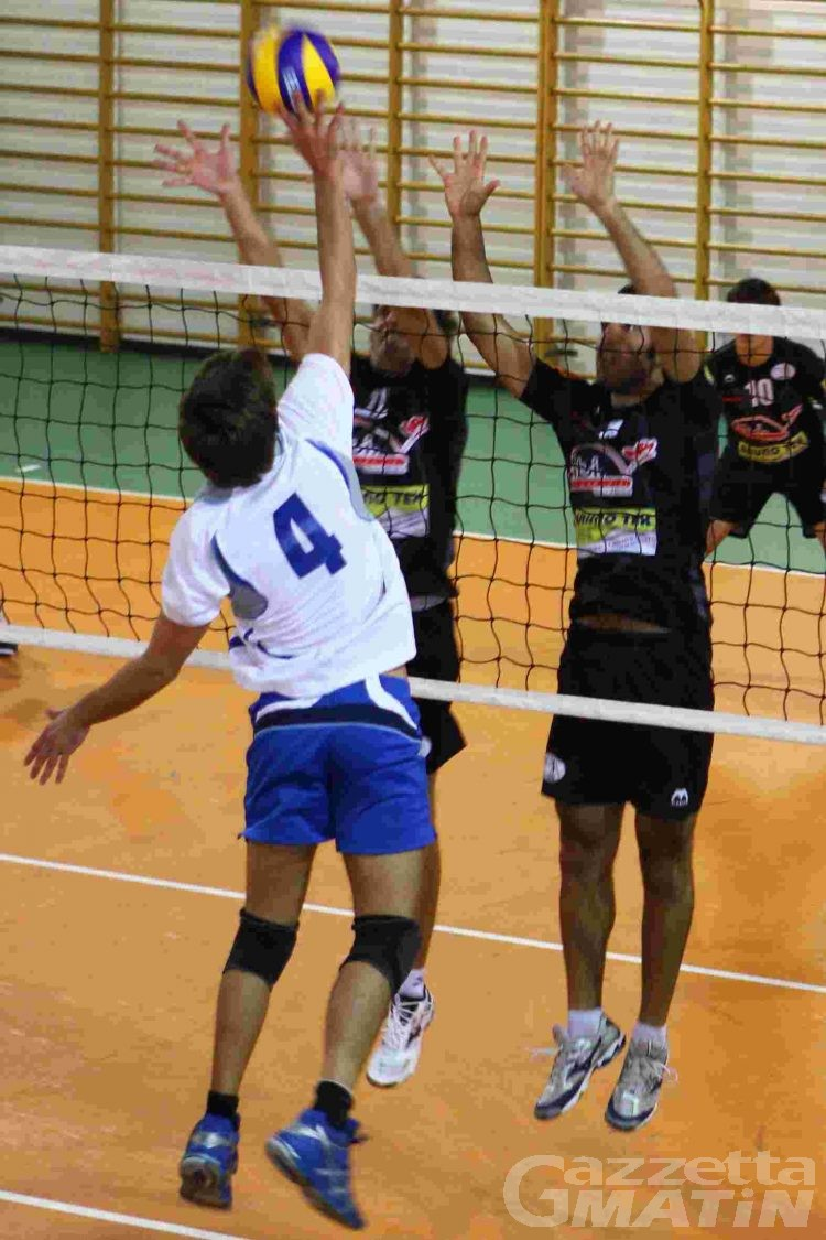 Volley: doppietta del Bruno Tex Olimpia