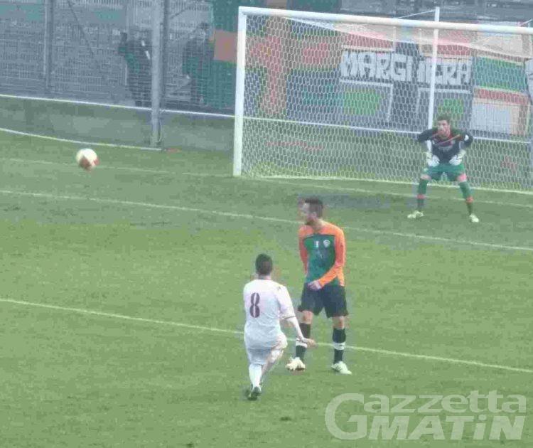 Calcio: bel pareggio del Vallée d'Aoste a Venezia