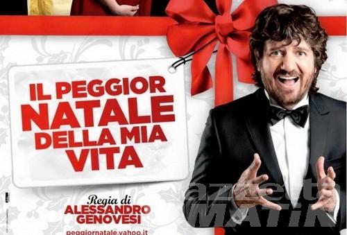 Cinema: regista e attori ad Aosta per Il peggior Natale della mia vita