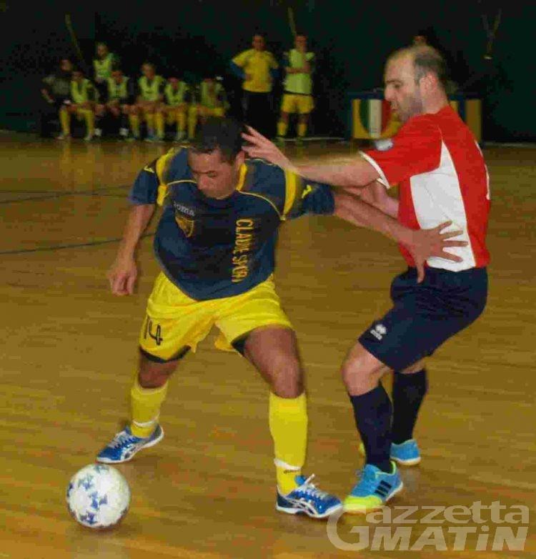 Calcio a 5: l'Aosta acciuffa il Rosta nel finale