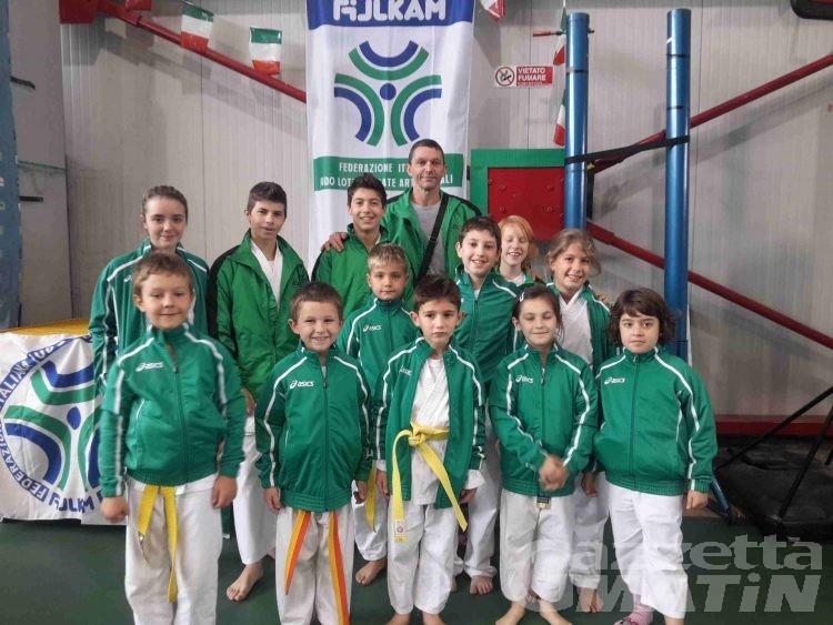 Karate: valdostani in evidenza a San Maurizio