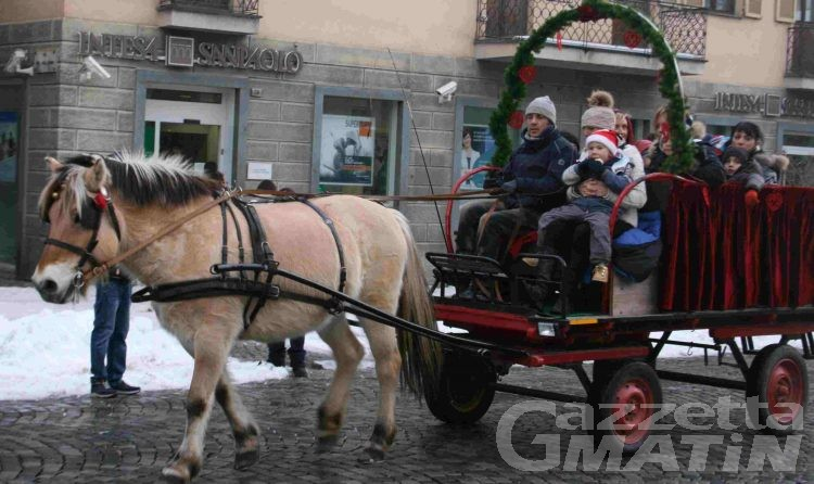 Aosta si veste a festa in vista del Natale