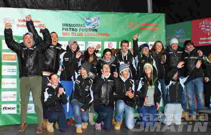 Sci alpino: l'Equipe Limone vince il Memorial Fosson
