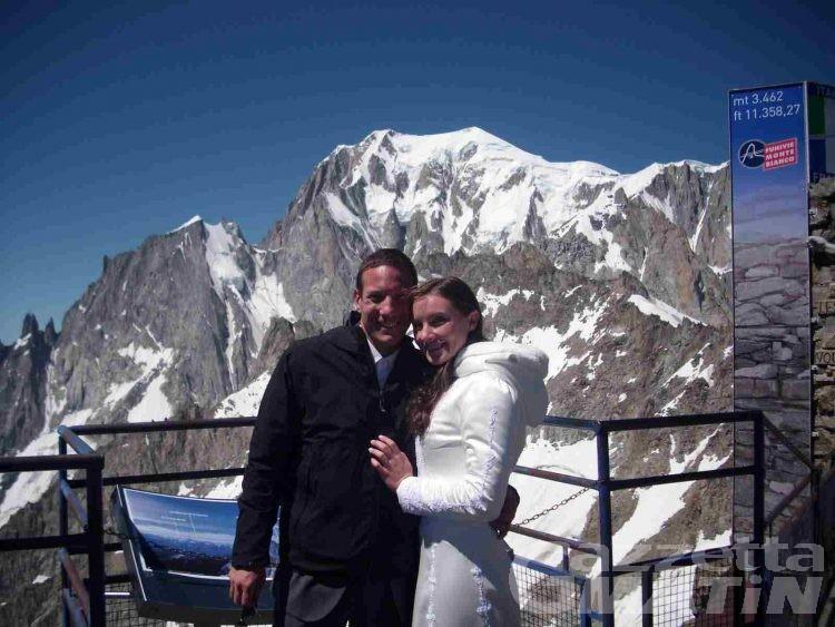 Courmayeur, sposarsi al cospetto del Bianco