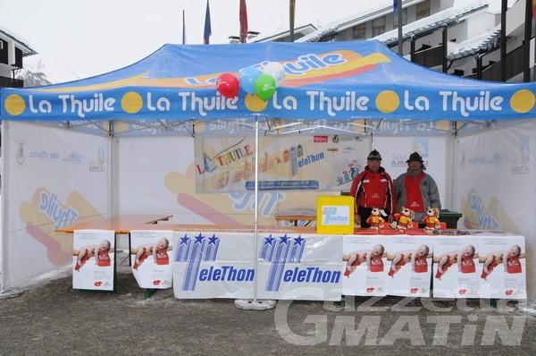 La Thuile: lo sci solidale porta 18 mila euro a Telethon