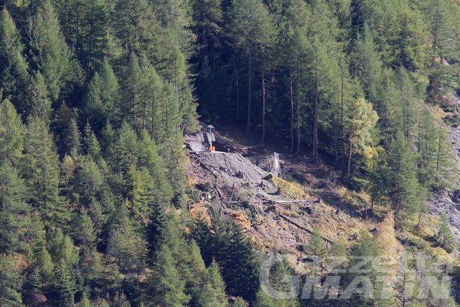 Courmayeur, mina sulla frana del Mont de la Saxe