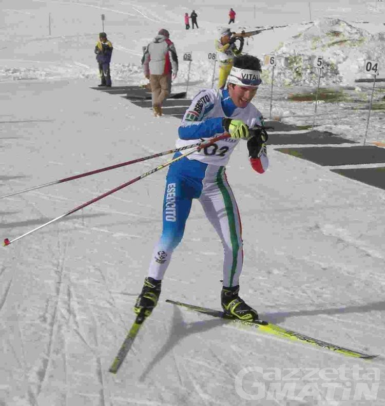Biathlon: i valdostani per gli italiani di Bionaz