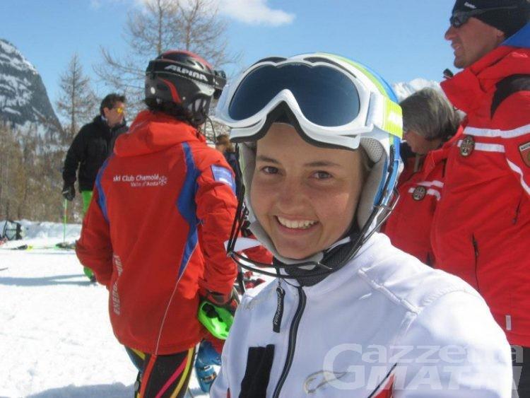 Sci alpino: Martina Perruchon quarta all'Abetone