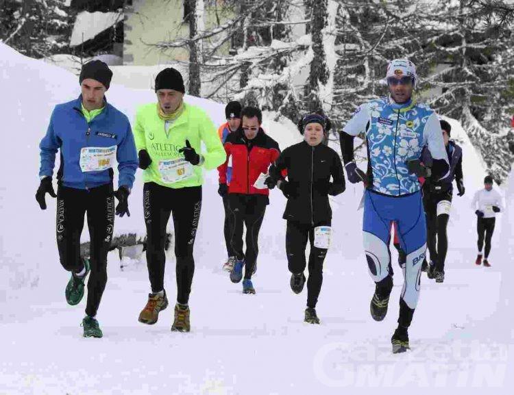 Corsa in montagna: conto alla rovescia per il Winter Eco Trail