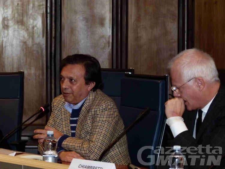 Chiambretti ospite dell'Università della Valle d'Aosta: piccolo è meglio