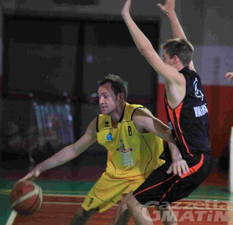 Basket: la Moretti Zero travolta a Carmagnola