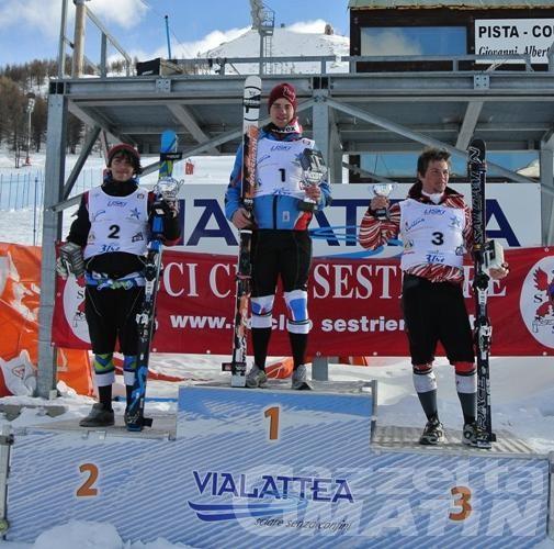 Sci alpino: prima giornata del Grand Prix Fisi al Sestriere