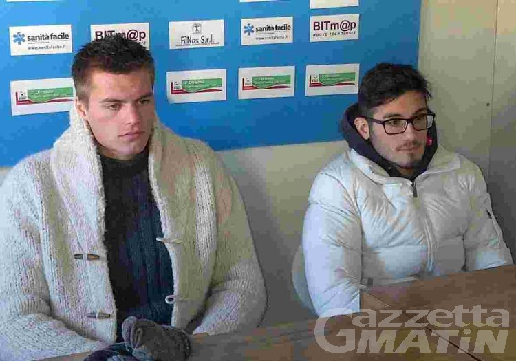 Calcio: Temelin e De Vincenziis out nel VdA che aspetta il Bellaria