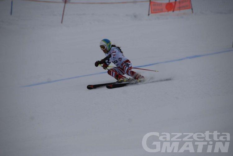 Sci alpino: allenamento dedicato al superG per i valdostani