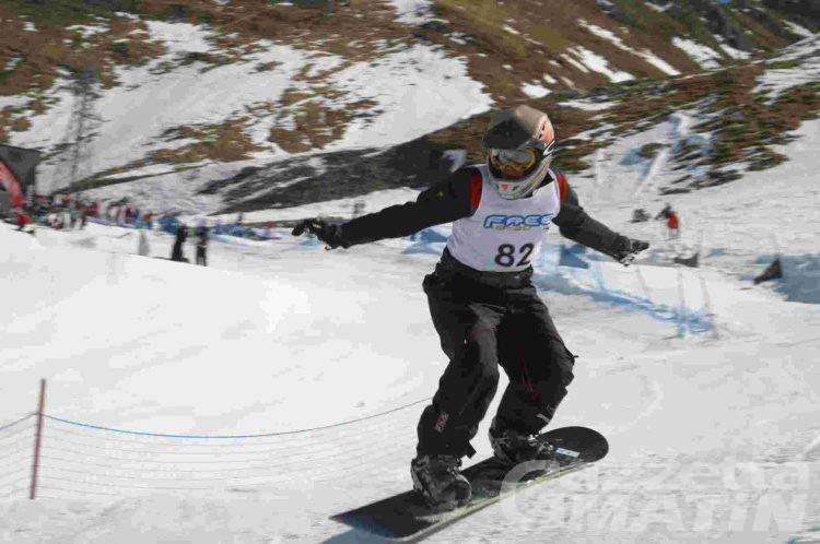 Coppa Europa Snowboard: Brutto vince la tappa di Puy Saint Vincent