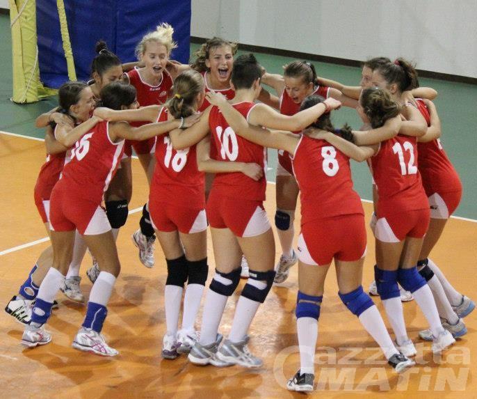 Volley: doppietta della Cogne sul CSI Châtillon