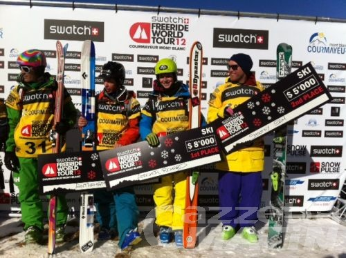 Freeride: Amacker e Backstrom trionfano a Courmayeur