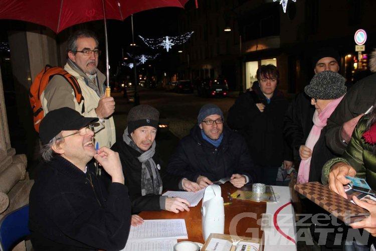 Movimento 5Stelle in campo in Vda per le politiche