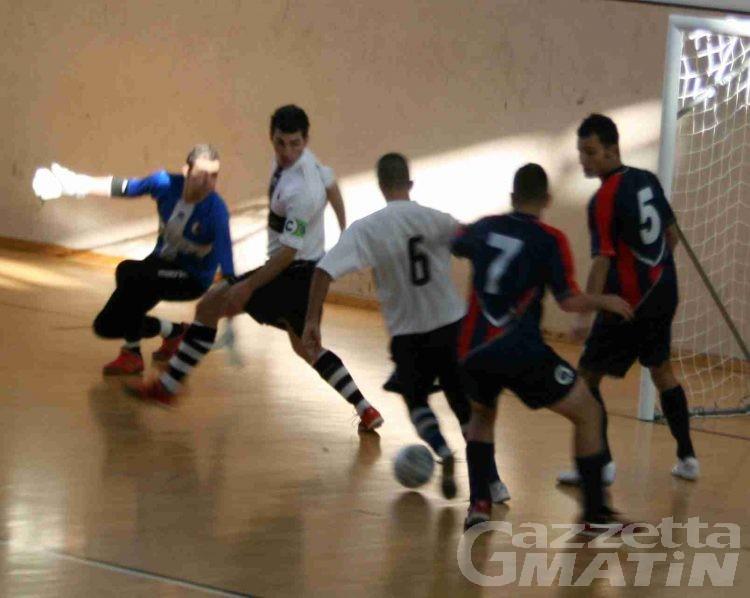 Calcio a 5: bene l'Aosta, crisi profonda dell'Aymavilles