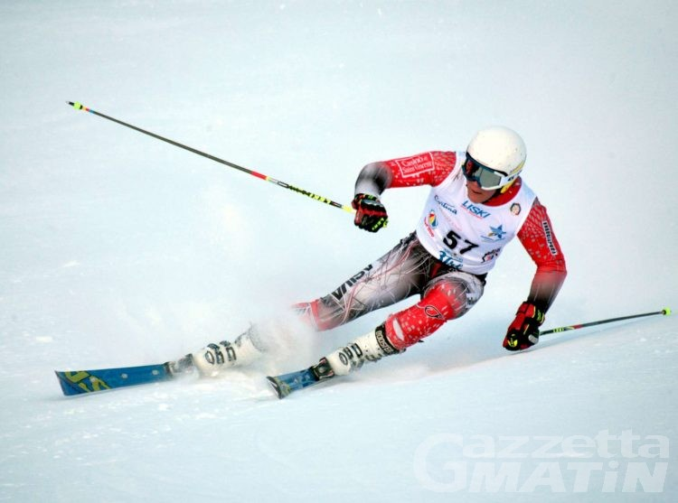 Sci alpino: a Rocco Delsante il secondo gigante Fis di La Thuile