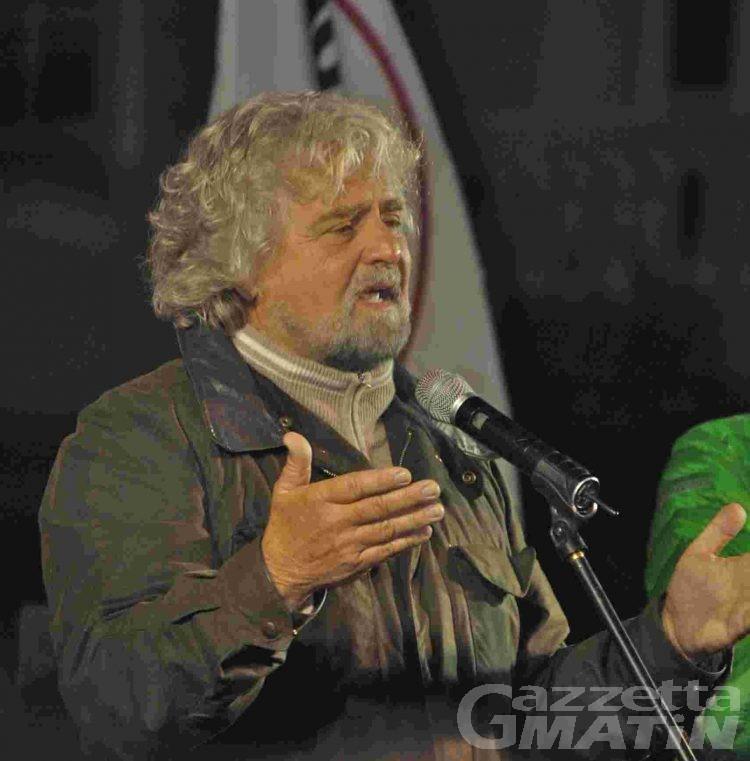 Grillo: «basta con i politici alla Rollandin»