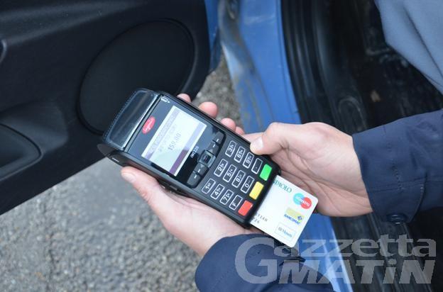 Prendi una multa? La puoi pagare direttamente col bancomat alla pattuglia che te l'ha elevata