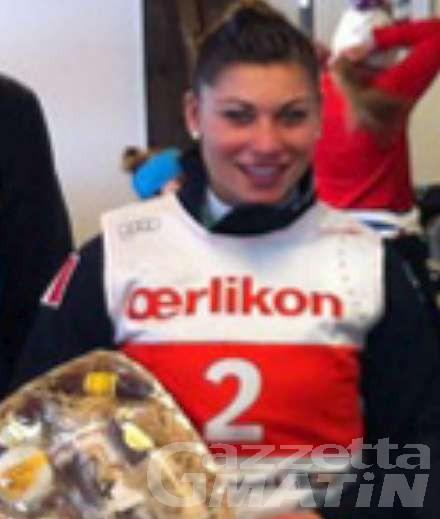 Sci alpino: Jasmine Fiorano terza a Corno alle Scale
