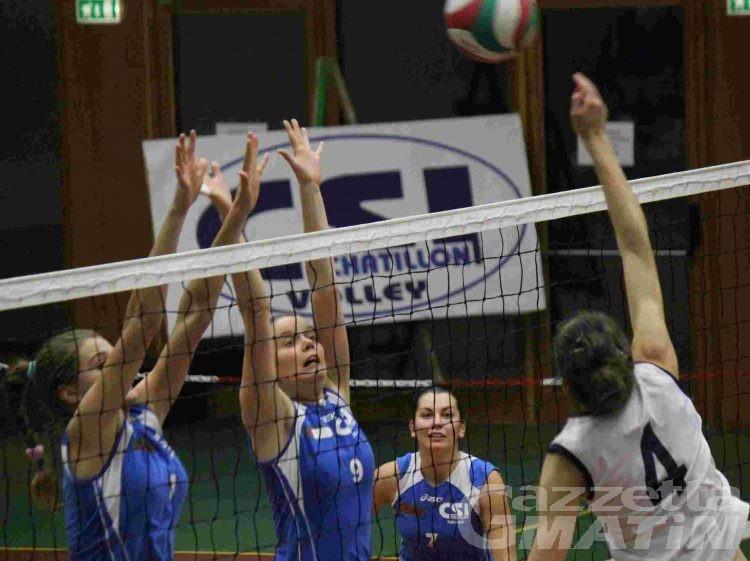 Volley: le valdostane fanno filotto