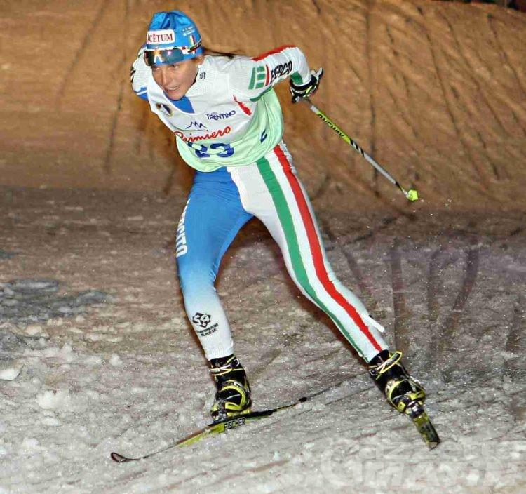 Fondo: Elisa Brocard 21ª nel prologo del Tour de Ski