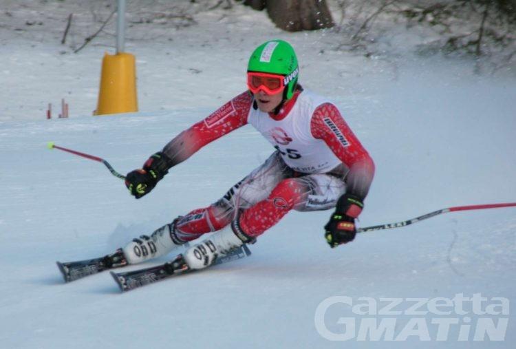 Sci alpino: Bosca vince tra i Giovani a Folgaria