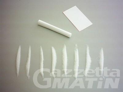 Traffico internazionale di droga: sequestrati due kg di cocaina purissima