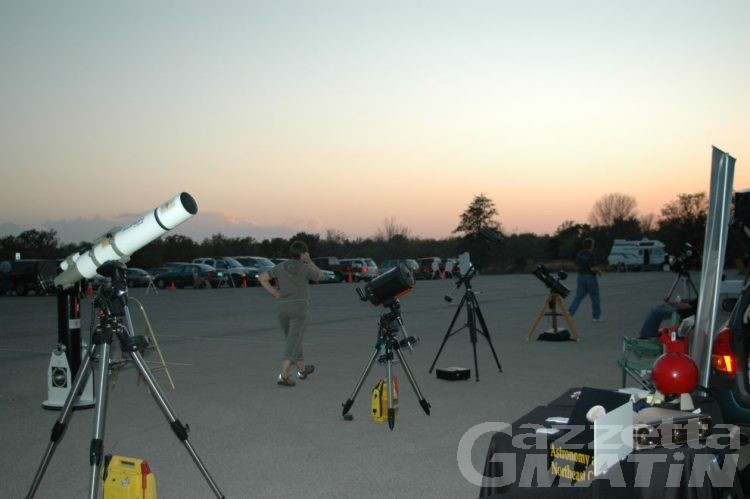 Nus: da domani lo Star party
