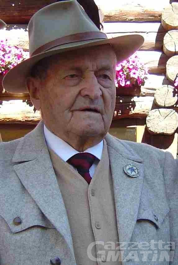 Valtournenche, l'addio a Ferdinando Gaspard