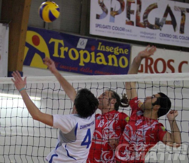 Volley: all'Olimpia riesce la rimonta, la Cogne si ferma al tie break