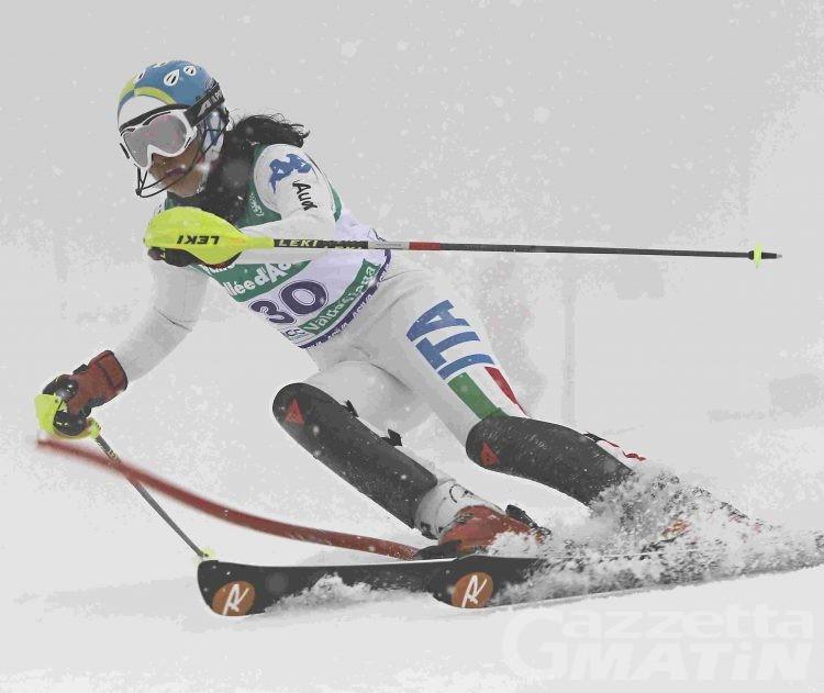 Sci alpino: Michela Borgis vinco lo slalom di San Candido