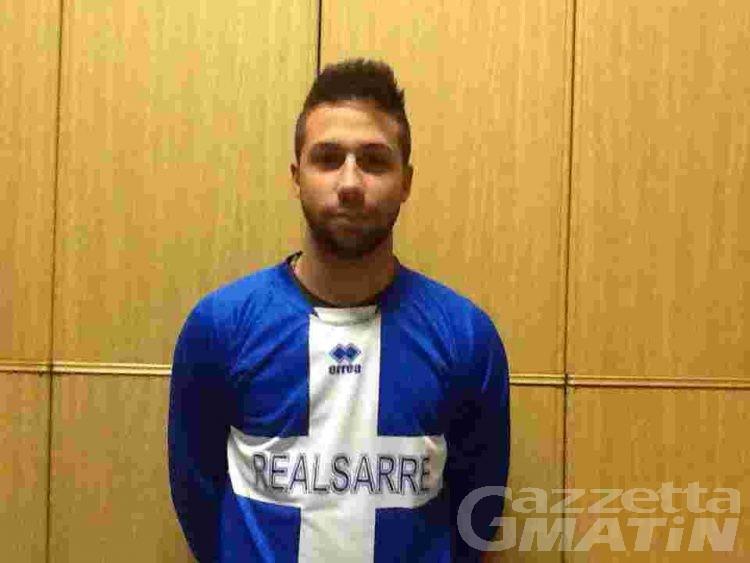 Calcio: il Real Sarre prende Samuele Giallombardo