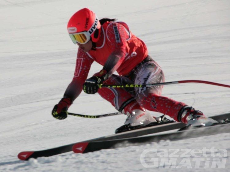Sci alpino: Jasmine Fiorano quarta agli italiani Giovani