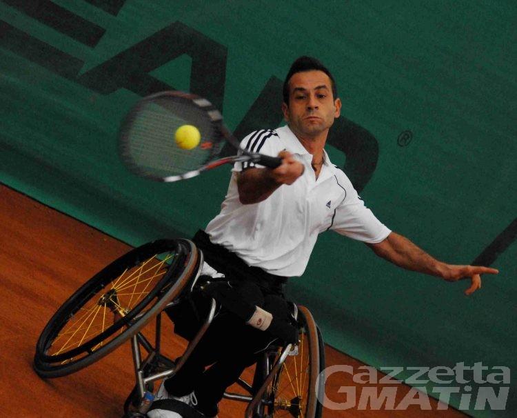 Tennis in carrozzina: a Courmayeur i campionati italiani