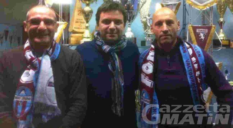 Calcio: il Monte Cervino ha presentato Gigi Danieli