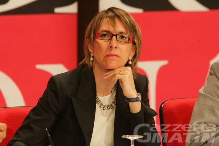 Manuela Zublena scivola sui controlli dell'aria al Bianco
